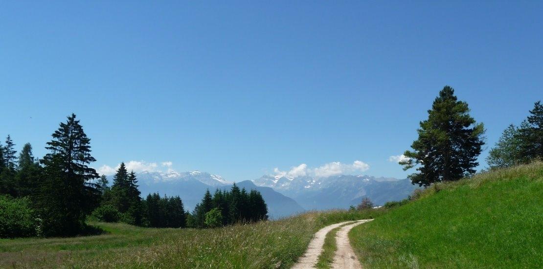 Romedius Pilgerweg über die Alpen