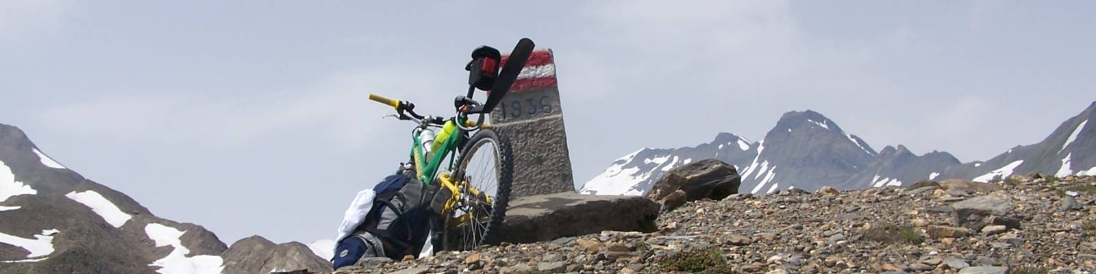 3x Mountainbike Transalp